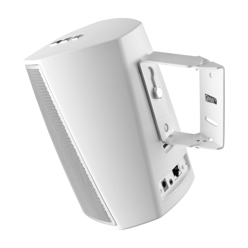 Swivel Wall Mount Suitable for DENON HEOS 1 White with Tilt