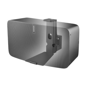 Full Motion Wall Mount Suitable for Sonos PLAY:5 (Gen 2) Horizontal Black