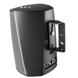 Swivel Wall Mount Suitable for HEOS 1 Black with Tilt