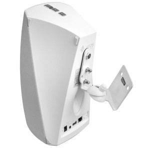 Full Motion Wall Mount Suitable for HEOS 3 White with Tilt